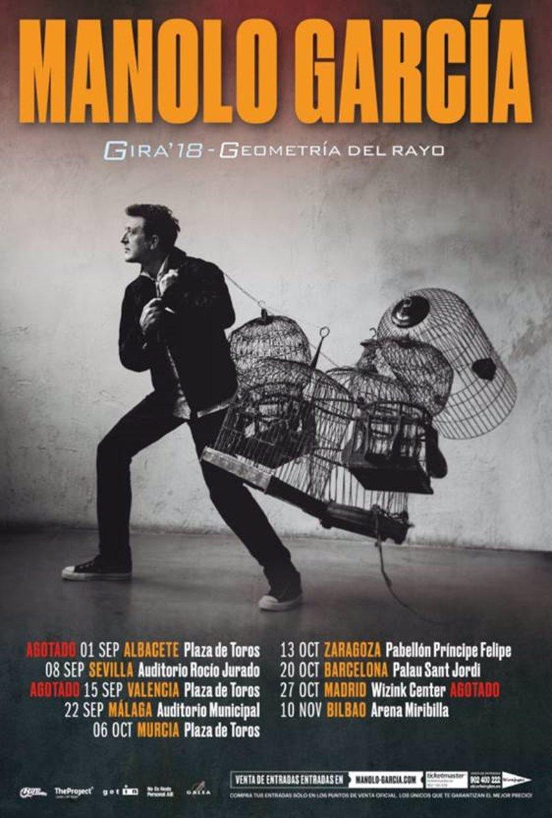 Gira'18 Manolo García