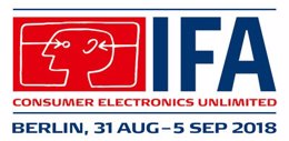 Internationale Funkausstellung Berlin (IFA) Logo (PRNewsfoto/TVT Media GmbH)