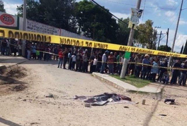 Queman a dos personas en Hidalgo