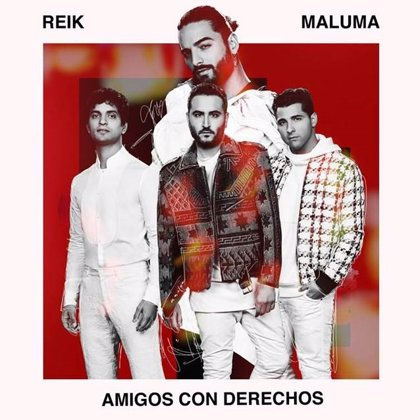 Reik y Maluma cantan a las relaciones inesperadas en su nueva colaboración 'Amigos con derechos'