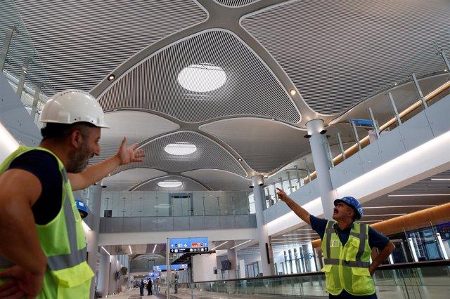 Nuevo aeropuerto de Estambul (Turquía)