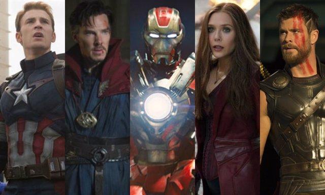 10 Superhéroes Más Poderosos De Marvel