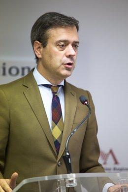 El diputado regional del PP de Murcia, Marcos Ortuño