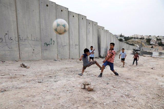 Campo de refugiados de Shuafat en Jerusalén Este