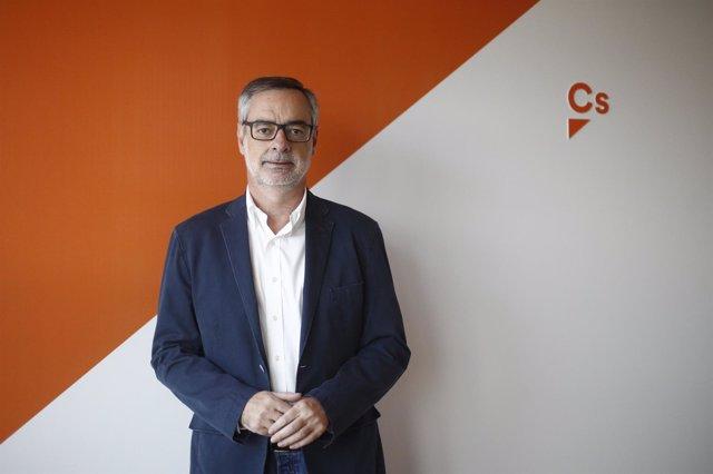 Entrevista de Europa Press al dirigente de Cs José Manuel Villegas