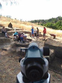 Segovia.- Yacimiento arqueológico en la Peña del Moro