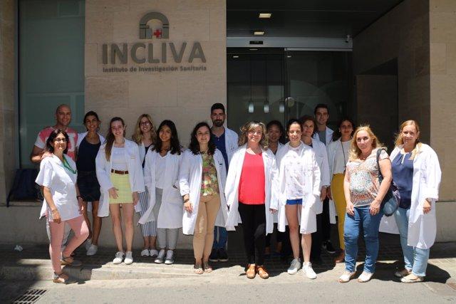 Investigadores del Incliva participantes en el proyecto