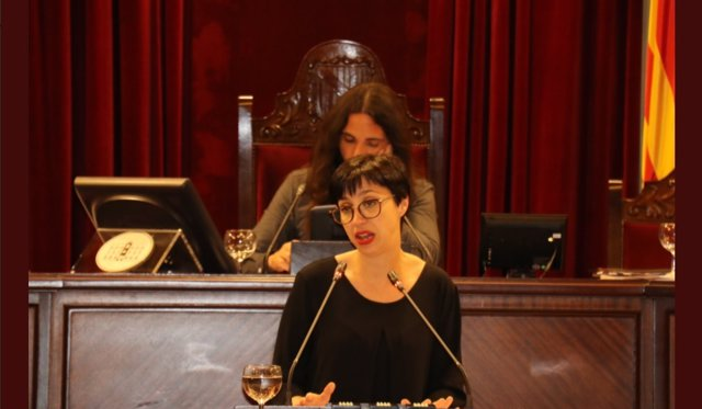 La diputada del PSIB, Sílvia Cano.