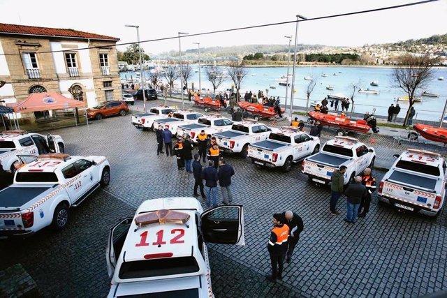 Agrupaciones de Voluntarios de Protección Civil en Galicia.