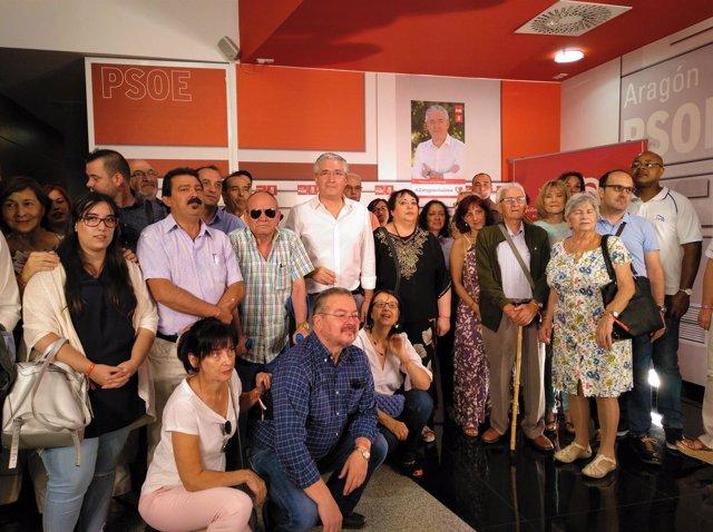 Presentación de la precandidatura a las Primarias del PSOE a la Alcaldía.