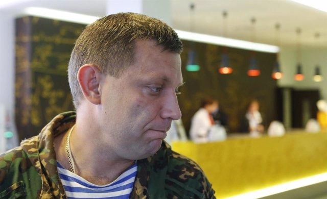 Zajarchenko, primer ministro de la autoproclamada República Popular de Donetsk