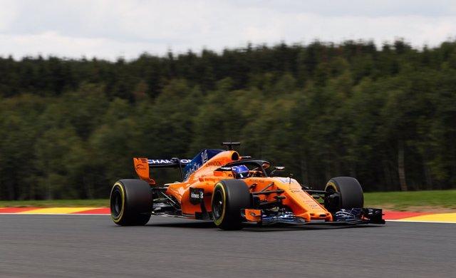 Fernando Alonso en Bélgica