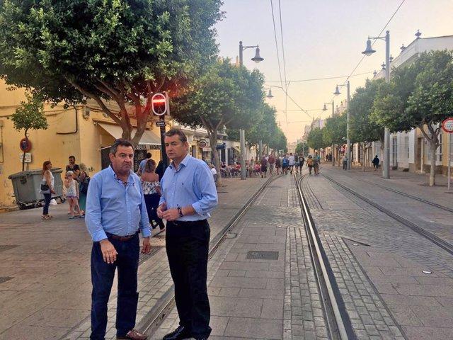 Los populares José Loaiza y Antonio Sanz
