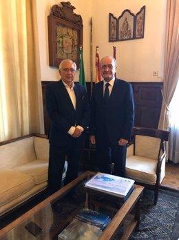 Juan José Imbroda y Francisco de la Torre