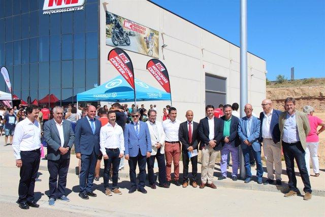 Inauguración de las nuevas instalaciones de MotocrossCenter en Technopark