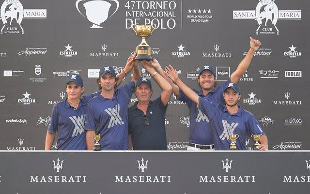 'Ayala' conquista la Copa de Oro Maserati de mediano hándicap, con la que finaliza el 47º Torneo Internacional de Polo