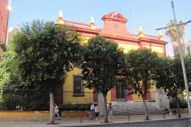Edificio que albergará el futuro centro de dinamización turística de Jaén.