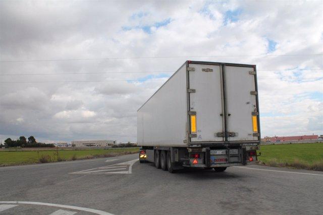 Carretera, camión