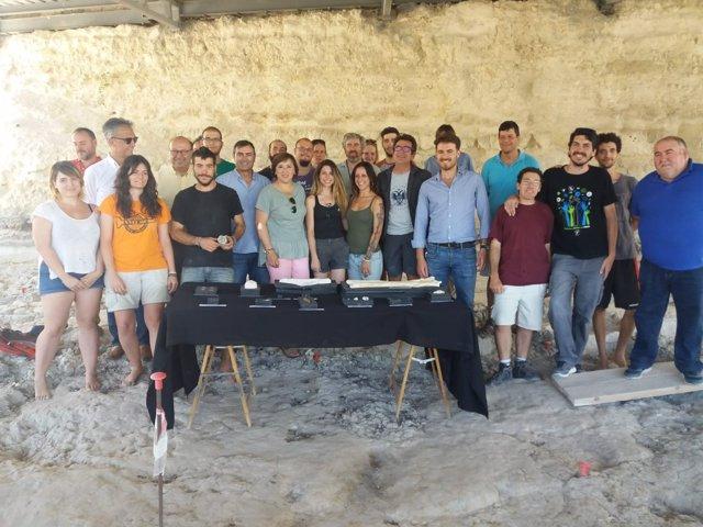 Presentación de la campaña de excavaciones en Orce