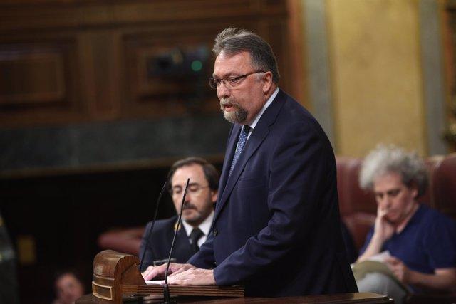 Isidro Martínez Oblanca interviene en el Congreso