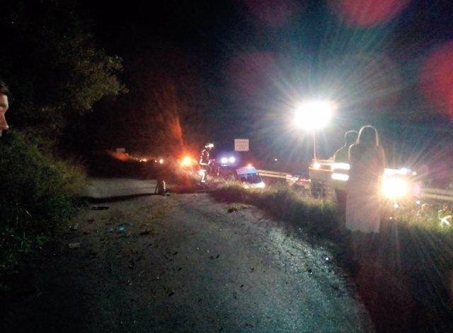 Accidente en Islares