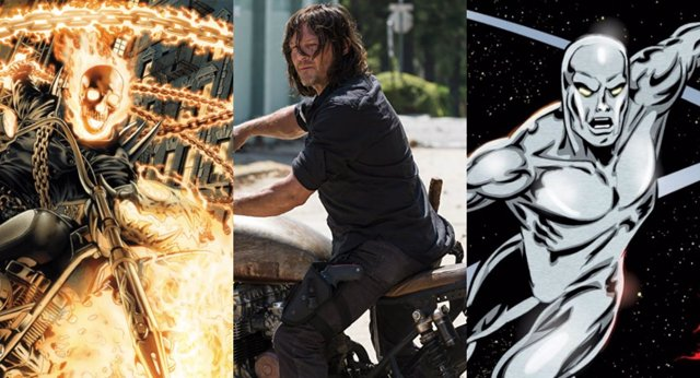 Norman Reedus quiere ser Ghost Rider o Silver Surfer