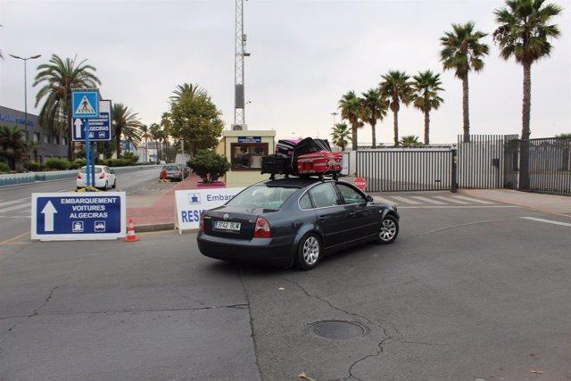 Flujo de viajeros entre Algeciras y Ceuta por la Operación Paso del Estrecho