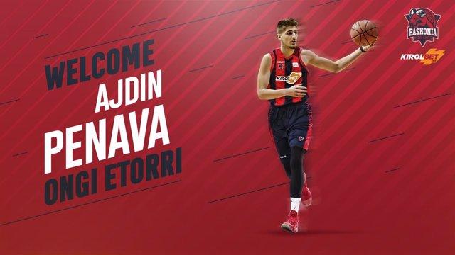 El ala-pívot bosnio Ajdin Penava, nuevo jugador del Baskonia