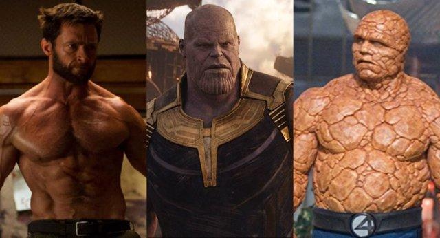 X-Men y Los 4 Fantásticos se enfrentan a Thanos
