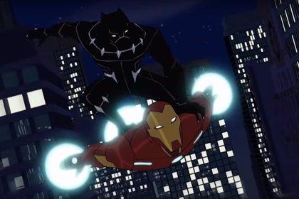 Black Panther pone en aprietos a Iron Man en el tráiler de su serie de animación
