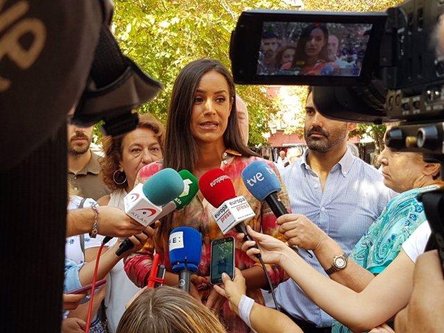 La portavoz de Ciudadanos en el Ayuntamiento de Madrid, Begoña Villacís.
