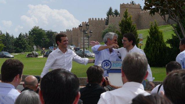 Pablo Casado en Ávila, 2-9-18