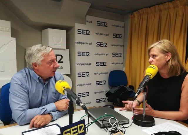 José Blanco, en entrevista en la Cadena Ser