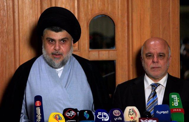 Al Sadr y Al Abadi