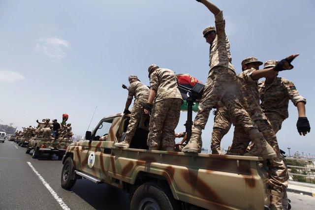 Milicias en Libia