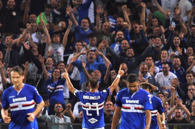 La Sampdoria golea al Nápoles