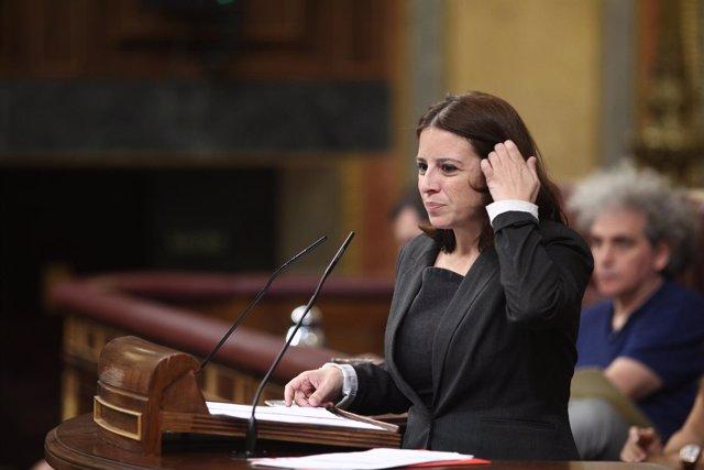 Adriana Lastra interviene en el Congreso