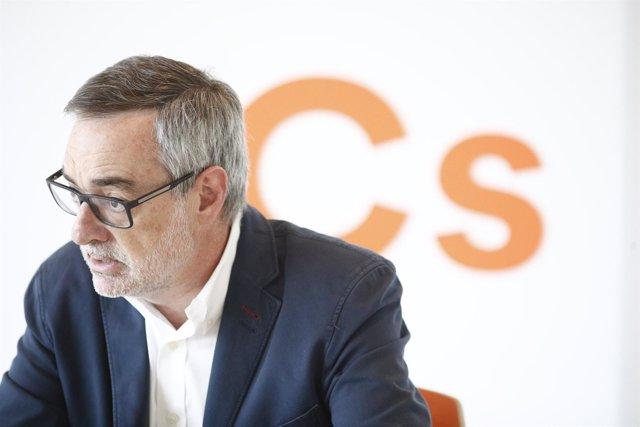 Entrevista de Europa Press al diputado de Ciudadanos en el Congreso, José Manuel