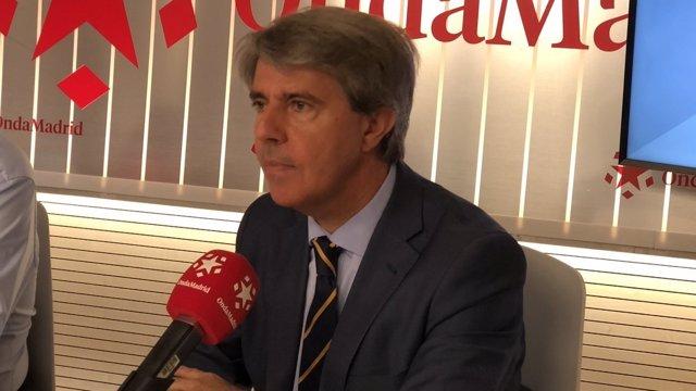 Presidente de Comunidad de Madrid, Ángel Garrido, entrevistado en Onda Madrid