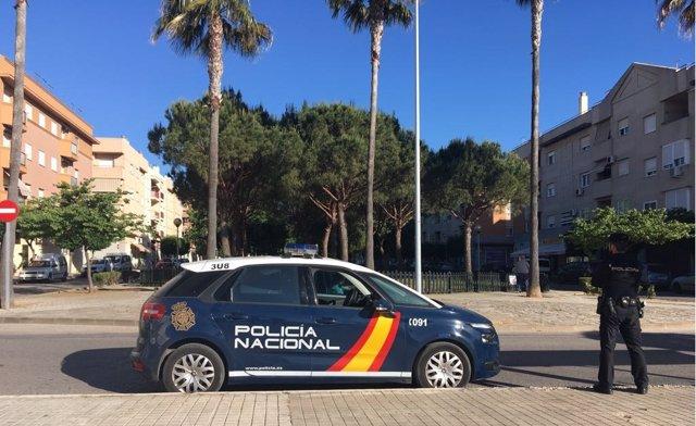 Agente de policía en Rota