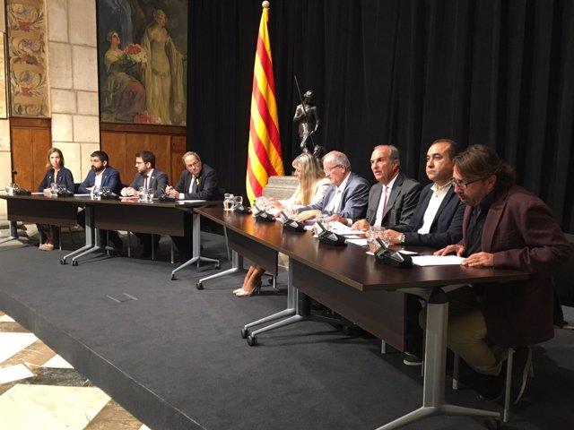 Firma del Acuerdo Interprofesional de Catalunya 2018-2020