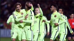 El Barça s'exhibeix davant l'Osca (FCB - Archivo)