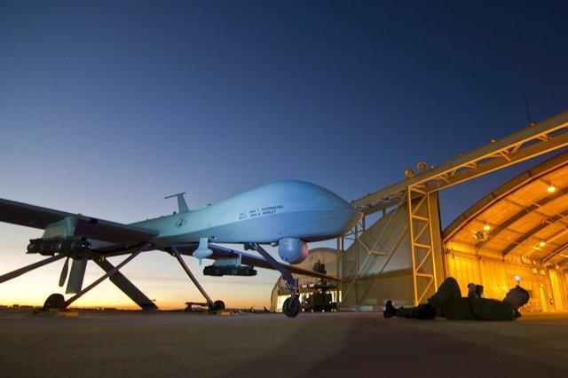 Un drone estadounidense MQ-1 Predator