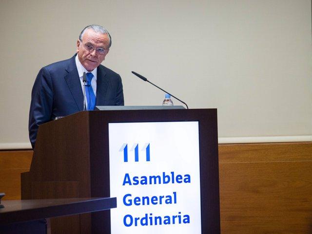 """Isidro Fainé, president de CECA i de la Fundació """"la Caixa"""""""