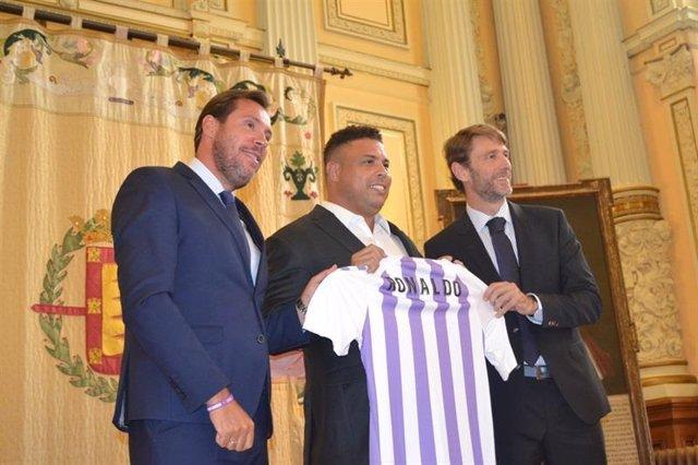 Ronaldo, máximo accionista del Real Valladolid