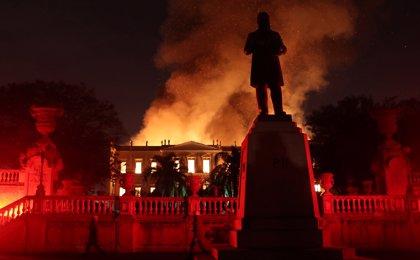 Las pérdidas más valiosas tras el incendio en el Museo Nacional de Brasil
