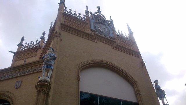 El Pabellón Real ya luce remozado