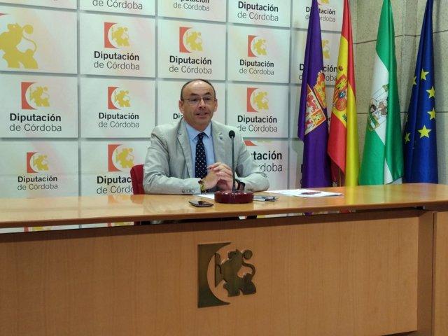 Francisco Juan Martín, en rueda de prensa