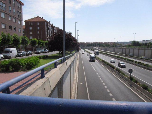 Imagen de la Circunvalación de Logroño