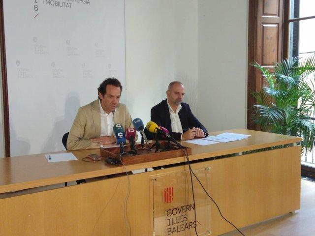 El conseller de Territori, Energía y Movilidad, Marc Pons